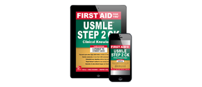 First Aid for the USMLE Step 2 CK (Clinical Knowledge), Tenth Edition